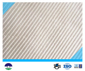 चीन PET White Multifilament Woven Geotextile for railway construction आपूर्तिकर्ता