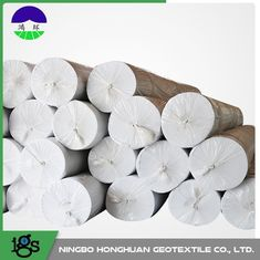 चीन Environmental Needle Punched Non Woven Geotextile Fabric 13.0kN/M Tensile Strength आपूर्तिकर्ता