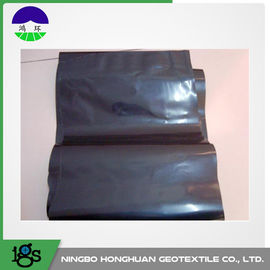 चीन 0.05mm Waterproof HDPE Geotextile Liner / Geomembrane Liner Black For Mining Liners आपूर्तिकर्ता