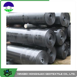चीन 2.50mm Ultra Tech Flexible HDPE Geomembrane Liner Smooth For Canal आपूर्तिकर्ता