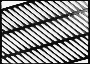 चीन High Strength PP Uniaxial Geogrid Black for Retaining Wall , 260KN/M आपूर्तिकर्ता