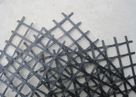 चीन Durable Warp Knitted Polyester Geogrid 20KN/M for Asphalt Wall फैक्टरी