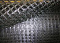 चीन Tensile Strength Glass Fiber Geogrid For Railway Foundation , Grey फैक्टरी