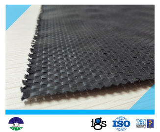 चीन UV Resistant Black Geotextile Woven Fabric For Reinforcement Fabric 460G वितरक
