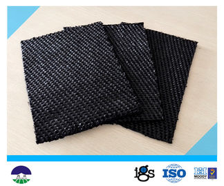 चीन 80 / 80kN Black Dewatering Woven Monofilament Geotextile High - Tenacity वितरक