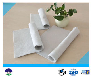 चीन Staple Fiber Needle punched Geotextile Drainage Fabric 800G For Reinforcement Base वितरक