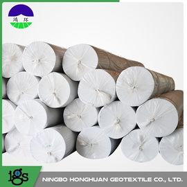 चीन Environmental Needle Punched Non Woven Geotextile Fabric 13.0kN/M Tensile Strength वितरक