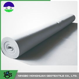 चीन PET / PP Filament Non Woven Geotextile Fabric 600GSM High Water Flow Rates वितरक