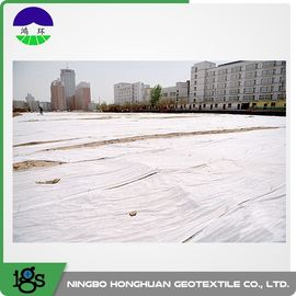 चीन Polyester Non Woven Geotextile Fabric 200g/M² Staple Fiber Geotextile Drainage Fabric वितरक