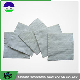 चीन 100% Polyester Continuous Filament Nonwoven Geotextile Filter Fabric Grey Color वितरक