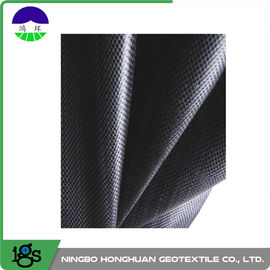 चीन 460G Black Geotextile Filter Fabric Convenient / Woven Geotextiles वितरक