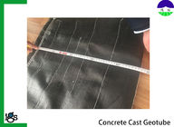 Concrete Cast Geotextile Filter Fabric For Solid Dam Engineering , Pile Driving Function
